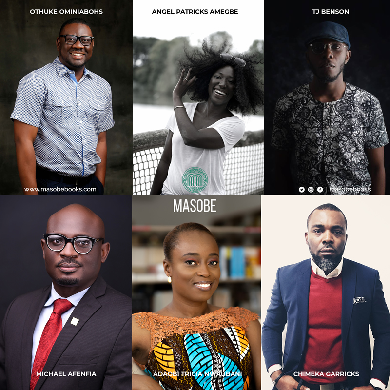 Masobe Books: List of Authors and Forthcoming Books